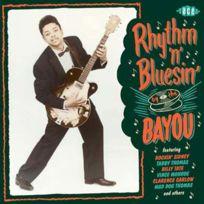 Ace Records - Compilation - Rhythm'n'bluesin by the bayou Boitier cristal