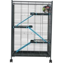 Zolux - Cage Indoor Max Loft 2 Bleu