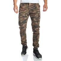 Ron Thompson - Rnt23 - Pantalon cargo camouflage slim fit élastiqué