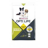 Opti-life - Croquettes Opti Life pour chien adulte taille moyenne Sac 2,5 kg