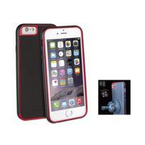 Uniq - AirCraft Plus'' iPhone 6 + support magnétique - Noir et rouge