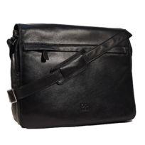 Cadwell - Cartable Sacoche 3 poches 1 poche zippée