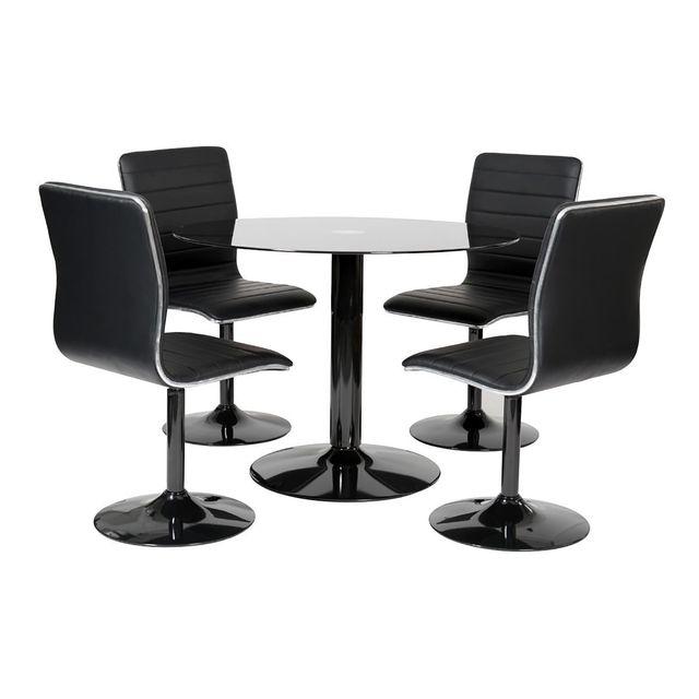Altobuy Spirit - Ensemble Table + 4 Chaises