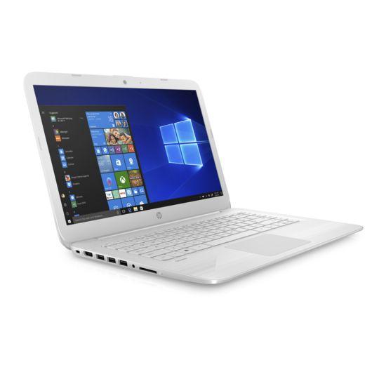 Hp Stream Laptop Pc 14 Cb100nf Blanc Neige à Prix Carrefour