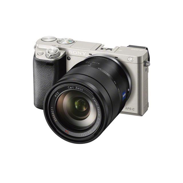 Sony Alpha 6000 Silver + 16-70mm f/4 Oss Zeiss Garanti 3 ans