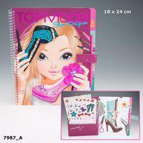 Kontiki - Album Coloriage Shoe Designer Top Model- 47987A