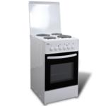 Rocambolesk - Superbe Cuisinière électrique 4 plaques 50 x 60 cm Neuf