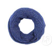 77b8e875f6d0 Coolminiprix - Lot de 12 - Écharpe tube tricot sch-382b bleu marine avec  fils