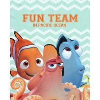 Graham & Brown - Dory Fun team Toile imprimée déco 40x50 cm bleu