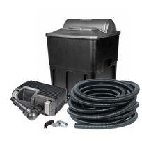 Hozelock - Kit de filtration bassin 20000 complet avec pompe, filtre, Uv, tuyau