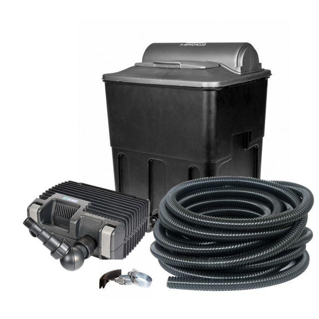 hozelock kit de filtration bassin 20000 complet avec pompe filtre uv tuyau pas cher achat. Black Bedroom Furniture Sets. Home Design Ideas