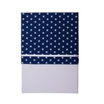 Little Dutch - Drap de berceau Blue with white star