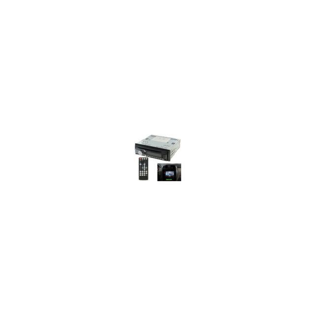 Auto-hightech Autoradio de panneau détachable à haute puissance avec télécommande, compatible avec Dvd / Mpeg-4 / Cd / Mp3 / Wma / Jpe
