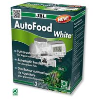 Jbl - Distributeur Automatique de Nourriture AutoFood pour Poisson d'Aquarium - Blanc