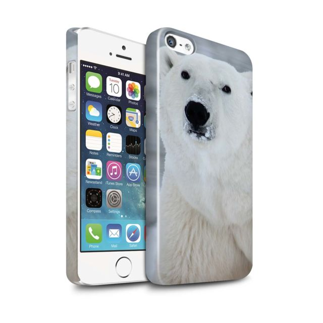 coque iphone 5 ours polaire