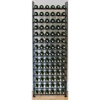 L'ATELIER Du Vin - Bibliothèque métallique pour 84 bouteilles de vin - Noir Aci-adv904