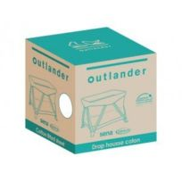 Outlander - Drap housse 95 x 65 cm blanc
