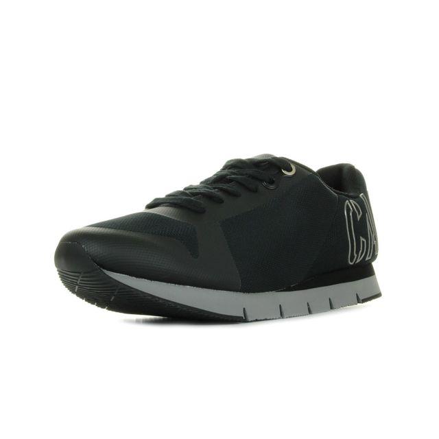 59d653a7da4 Calvin Klein - Basket mode Jeans Jabre Mesh S1658BPW - pas cher Achat   Vente  Baskets homme - RueDuCommerce