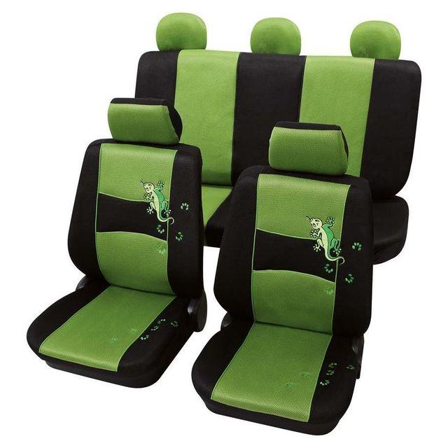 Petex housses de siège style design vert et noir hyundai accent 1994 2000