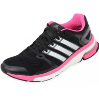 new concept 868ac b40a0 Adidas - ADISTAR BOOST W ESM BLK - Chaussures Running Femme Multicouleur 36