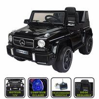 Cristom - 4x4 électrique pour enfant Mercedes Amg ® licence Mercedes 12V - noir