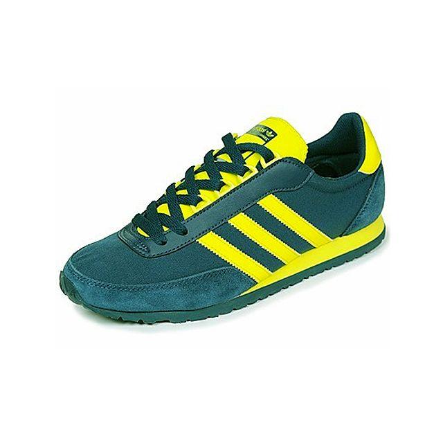 basket adidas jaune et verte