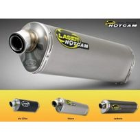 Laser - Silencieux hotcam dual-sound carbone pour honda - 74508043