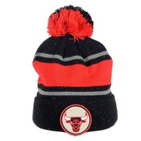 Mitchell And Ness - Bonnet Speckled Kn40Z Bulls Noir / Rouge
