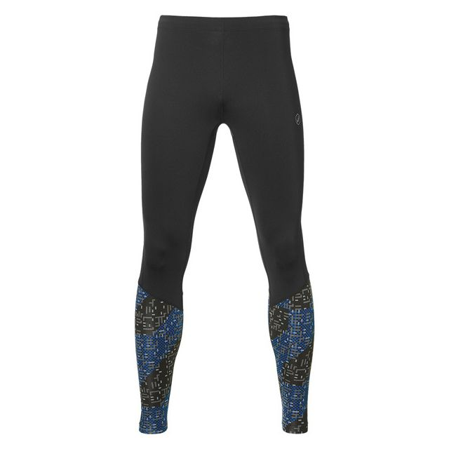 Asics - Race Tight Lite Stripe Blue Collant de course à pied - pas ... ab1404750d3