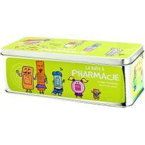 Promobo - Grande Boite à Pharmacie Soins Médicaments Infirmerie Picto Vert