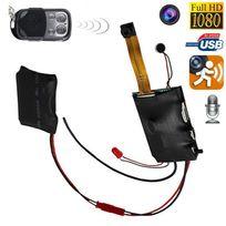 Yonis - Mini caméra espion Hd 1080P télécommandée à détecteur de mouvement