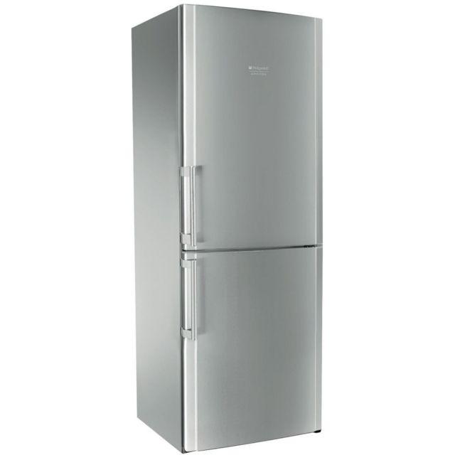 HOTPOINT-ARISTON Réfrigérateur congélateur 2 portes ENBLH19221FW • Volume utile total : 450L• Type de froid : Total No Frost- Classe d'efficacité énergie : A+- Consommation d'énergie par an: 418kWh- Niveau sonore : 43d