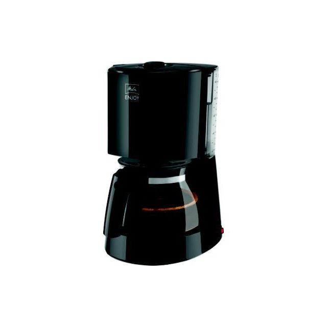 MELITTA Cafetière filtre Enjoy Glass noire