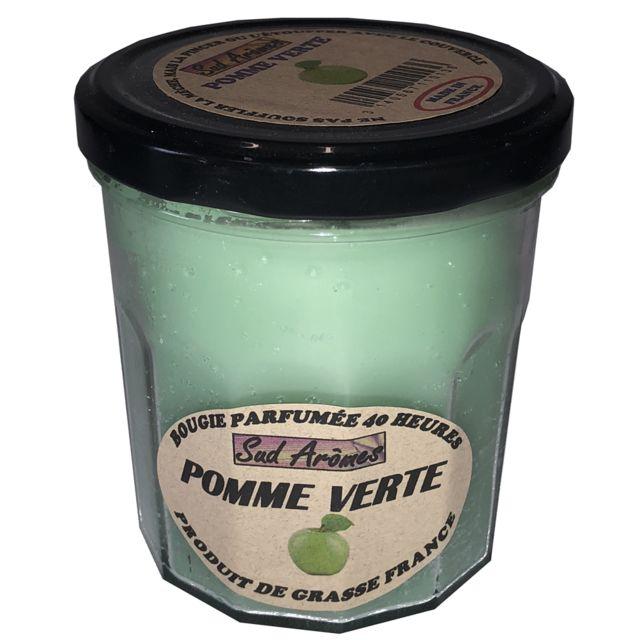 Sud-ouest - Bougie Fabriquée en France - 40 heures - Pomme verte