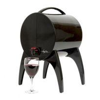WINY BAR - fontaine à vin 5l noir - 0036