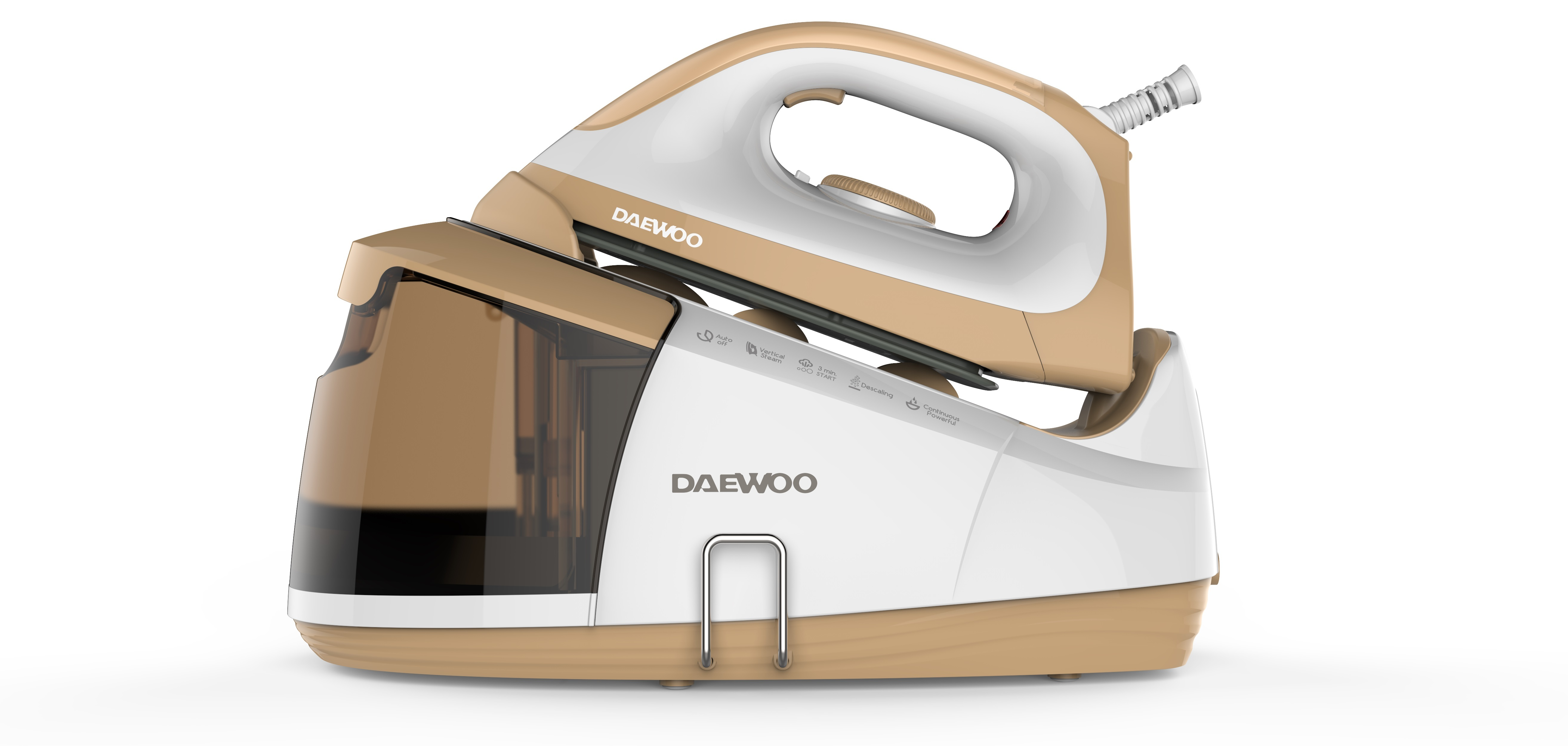 daewoo centrale vapeur 2400w 5bars d bit 120g mn r servoir amovible semelle c ramique ultra. Black Bedroom Furniture Sets. Home Design Ideas