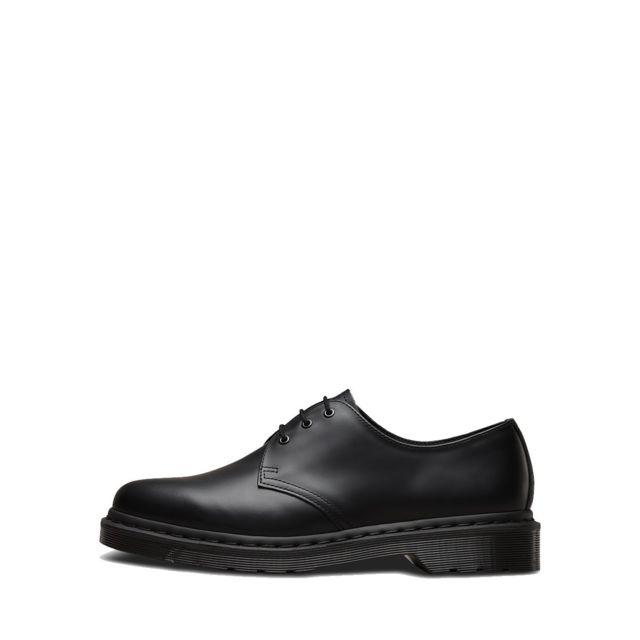 7d30ffa5898 Dr. Martens - Chaussures à lacets Dr Martens Mono Black Smooth - 1461 -14345001