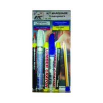 RTC INTERNATIONAL - Kit de Marquage 5 marqueurs - 105