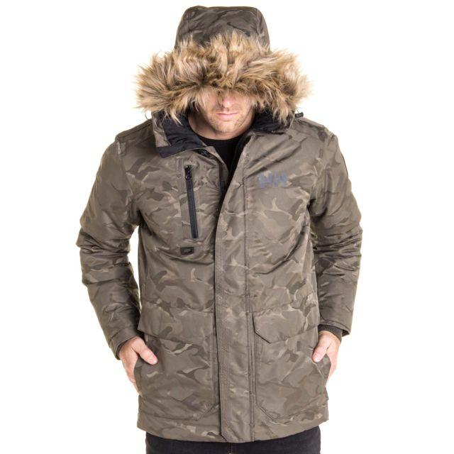 Helly Hansen - Parka Svalbard Camouflage pour homme Vert - pas cher ... f0c1e2d35080