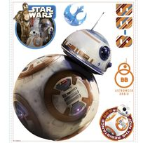 Roommates - Stickers Géant Bb-8 Star Wars