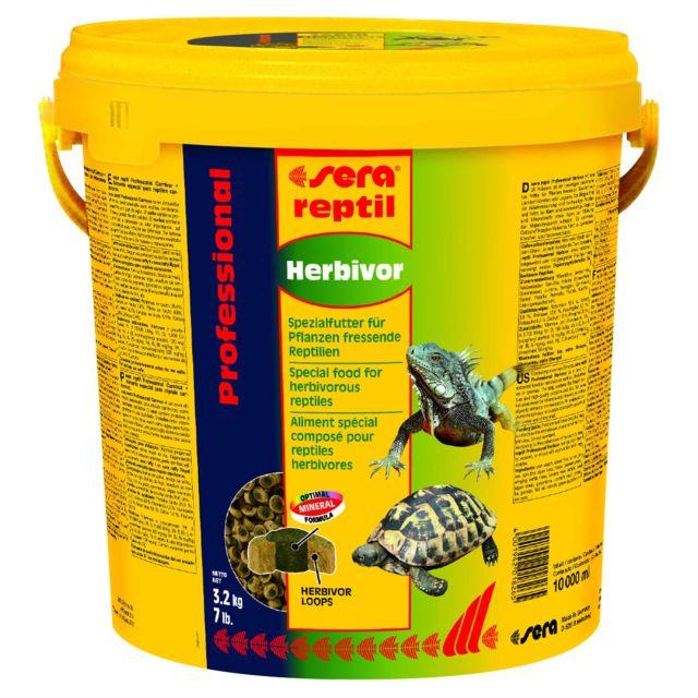 Sera reptil Professional Herbivor 10 Litres
