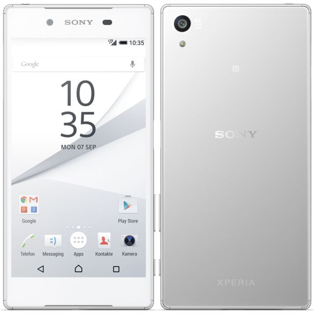 SONY Xperia Z5 - Single Sim - Blanc