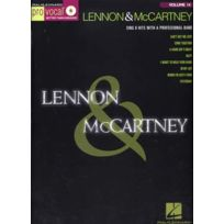 Hal Leonard - Partitions Variété, Pop, Rock. Pro Vocal Vol.14 Lennon & Mccartney + Cd Vocal