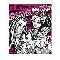 Sans Marque - Plaid - Bout de lit Monster High