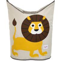 3 SPROUTS - Panier à linge pour enfants Mes animaux préférés Lion
