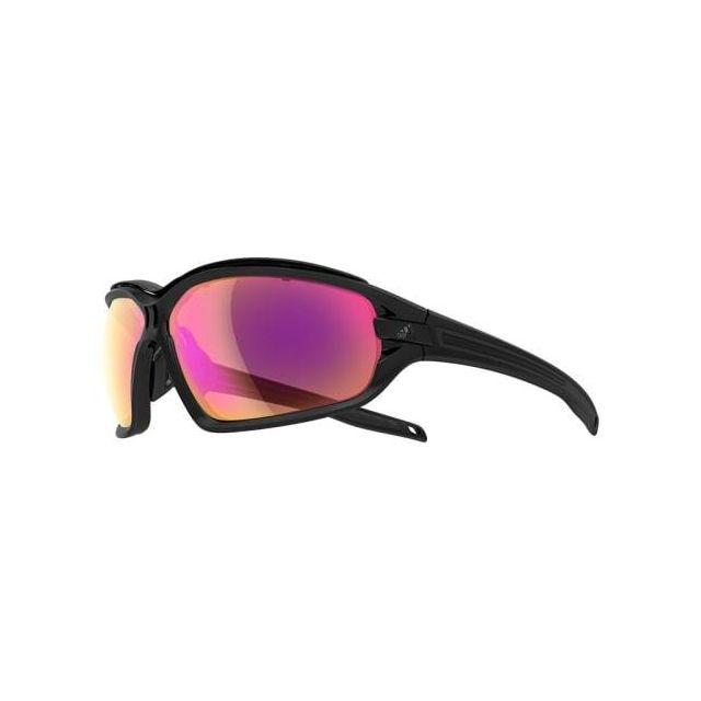 10ec97d672a416 Adidas - Lunettes Evil Eye Evo Pro noir avec verres Lst Bright Vario Purple  Mirror photochromiques