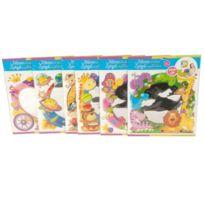 Eddy Toys - 72326 - Loisir CrÉATIF - Miroir Autocollant Plastique Pour Enfant - 6 ModÈLES - 30X30 Cm
