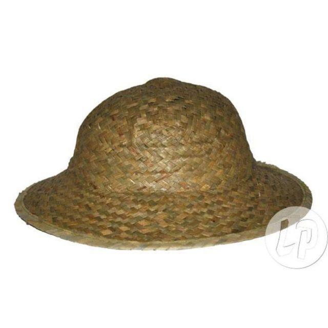 3cdf272a43e Coolminiprix - Lot de 3 - Chapeau colonial en paille nature - Qualité  Coolminiprix