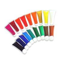 Box - Peinture Acrylique 18TUBEN Je36ML Artico Set De Dessin Farbenset Couleurs Pour Peinture Acrylique
