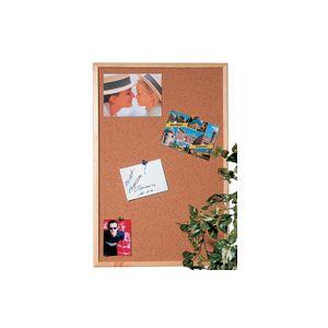 Maul tableau en li ge pour punaise avec cadre bois 40 - Grand tableau en liege ...